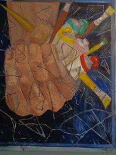 De Isabelle Nogueira -  Cor da Arte ( 1998) - óleo s/ tela