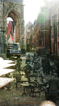 Toen en nu. Nijmegen