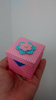 Mini caixa para bombom, mini pão de mel e muito mais