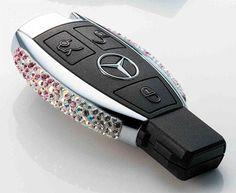 Swarovski Crystallized Car Key!! You want it - I can crystallize it. #Swarovski