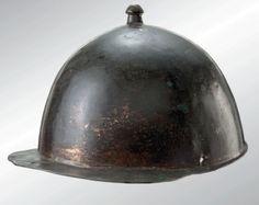 Roman republican helmet, Roman legionary's helmet of the Montefortino/ Buggenum type, 1st century B.C.-1st century A.D.