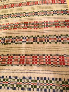 Monks belt pattern, woven in linen (warp and tabby) and wool (weft pattern) during Vavstuga Swedish Classics week