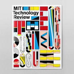 Felix Pfäffli - MIT Technology Review Cover Design