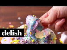 Best Unicorn Dip Recipe - How To Make Unicorn Dip - Delish.com