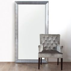 "Omni Leaner Mirror from Z Gallerie 44""W x 79""H"