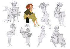"Borja Montoro Character Design: Character design for The SPA Studio's ""Giacomo's Secret""."