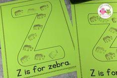 letter z ideas Preschool Letter Sound Activities, Preschool Routine, Letter Activities, Kindergarten Lessons, Preschool Learning Activities, Alphabet Book, Learning The Alphabet, Play Money, Teaching Letters