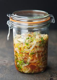 quick kimchi recipe | use real butter. Reprinted with permission from The Steamy Kitchen's Healthy Asian Favorites, by Jaden Hair,  copyright © 2013. Published by Ten Speed Press, a division of Random House, Inc.