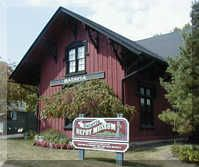 Batavia Depot Museum: Listed on the National Register of Historic Places, this 1854 Chicago, Burlington and Quincy Railroad depot comes alive with exhibits on rail transportation, windmills and the settlement of Batavia.