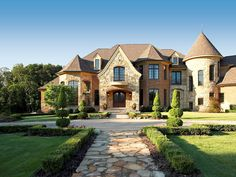 Luxury Homes Exterior Brick