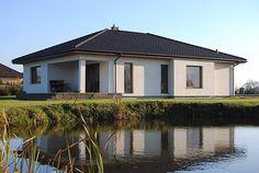 Aster idealny parterowy dom z tarasem dla 4-osobowej rodziny - Jesteśmy AUTOREM - DOMY w Stylu Aster, Gazebo, Outdoor Structures, Kiosk, Pavilion
