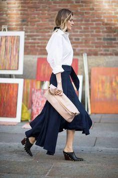 Best Street Style Milan Fashion Week SS17 Day 4 - Image 20