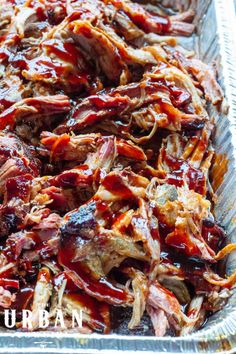 Learn the secrets to making juicy and succulent pulled pork on your pellet smoker for backyard barbecues and parties! This recipe shows each step of the process including the pulled pork rub, pork mop sauce, and tips for your pellet grill. Get the full guide now on UrbanCowgirlLife.com! Pulled Pork Rub, Pulled Pork Recipes, Rub Recipes, Grilling Recipes, Cooking Recipes, Mop Sauce, Barbecues, Bbq, Texas