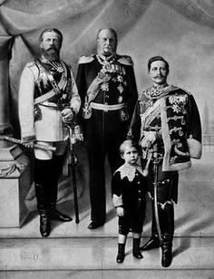 Hurra 4 Kaiser: Friedrich III+ father Wilhelm I+grandson last King Prussia Wilhelm II+son last Crown Prince(Friedrich)Wilhelm Queen Victoria Family, Princess Victoria, German Royal Family, English Army, Friedrich Ii, Germany And Prussia, Frederick William, King Of Prussia, Young Prince