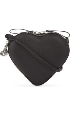 75be7ba5d3 VIVIENNE WESTWOOD - Anglomania Johanna small heart leather cross-body bag |  Selfridges.com