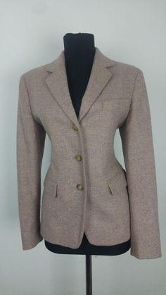 Max Mara Weekend Womens Blazer size UK 8 10 Jacket Herringbone Business  Formal in Clothes 15e632486f3