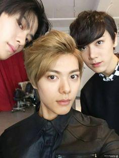 Jaehyun, Hansol, Ten   #RookiesApp
