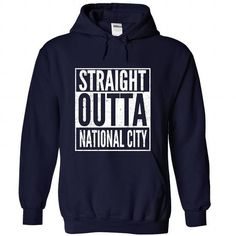 STRAIGHT OUTTA NATIONAL CITY - #food gift #college gift. TAKE IT => https://www.sunfrog.com/No-Category/STRAIGHT-OUTTA-NATIONAL-CITY-3367-NavyBlue-Hoodie.html?68278