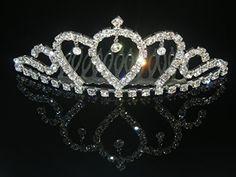 Wedding Crown Bridal Tiara Rhinestone Crown for Bridal, Pageants, Proms, Christmas Gift C3