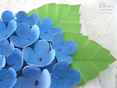 Clare's creations: Leaf Tutorial Paper Origami Flowers, Coffee Filter Paper, Leaf Shapes, Handmade Flowers, Plant Leaves, Crafts For Kids, Paper Crafts, Birthday, Floral