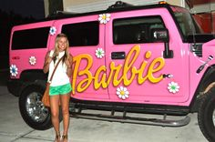 Pink Barbie Hummer ☆ Girly Cars for Female Drivers! Love Pink Cars ♥ It's the dream car for every girl ALL THINGS PINK!