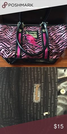 Betseyville Purse from Buckle Zebra Print with pink and black sparkles Buckle Bags Shoulder Bags