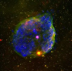 Feb 26, 2013 Image of a hot space bubble around the Wolf-Rayet star.