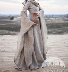 Woolen dress and pitcher