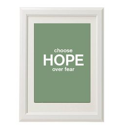 #hopemessage print 8''x10'' free shipping by QueenAndEyePrints, $18.00