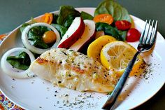 Heavenly Halibut is a broiled halibut fillet recipe crusted with a rich mayo, Parmesan topping. Ready in 30 minutes, this is an easy weeknight fish recipe that will become your family favorite seafood dinner. Seafood Recipes, Dinner Recipes, Cooking Recipes, Healthy Recipes, Dinner Ideas, Baked Halibut Recipes, What's Cooking, Meal Ideas, Easy Recipes