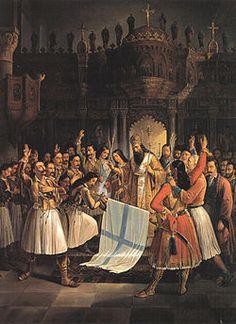 Greek War of Independence in art