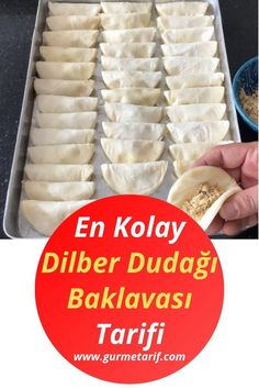 The Easiest Dilber Lip Baklava Recipe - Rezepte Bow Empanadas, Turkish Recipes, Indian Food Recipes, Grandma Pie, Fast Food Items, Creamy Rice, Bless The Food, Healthy Comfort Food, Food Quotes