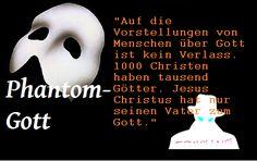 bibeltagebuch: Thema:   Phantom-Gott   Die nächsten 10 Zeil...
