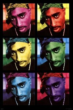 Tupac - Pop Art Poster Print (24 x 36), By The Poster Corp // $10.00  Features: - Print Title: Tupac - Pop Art - Print Type: Poster Print - Paper Size: 24 x 36 inches - Publisher: Pyramid Art Prints-  >>Get Inspired! - Visit http://artcaffeine.imobileappsys.com