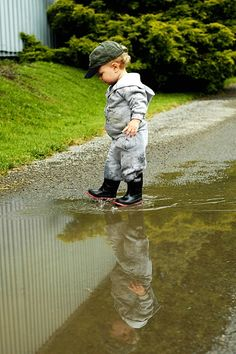 When nothing else but puddles matter.