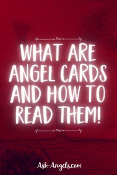 Angel cards quite simply oracle cards with an angelic theme. But can they direcly connect you to the energy and messages of the angelic realm? Yes... But you Spiritual Guidance, Spiritual Awakening, Angel Cards, Archangel Michael, Oracle Cards, Card Reading, Learn To Read, Stones And Crystals, Spirituality