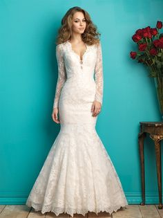 Allure Bridal Trunk Show Blog Post...Lace Sleeve...Mermaid
