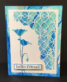 Poppy Cards, Alcohol Inks, Penny Black, Flower Cards, Handmade Cards, I Card, Poppies, Card Ideas, Group