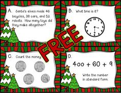 December Ideas and Freebies