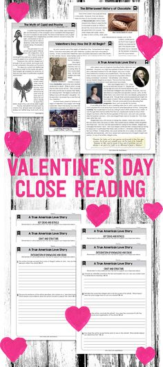 Close Reading Passages for Valentine's Day {Grades 4-8}. Leveled passages and leveled text-dependent questions. Everything you need in one resource! 6th Grade Reading, 6th Grade Ela, Sixth Grade, Fourth Grade, Writing Resources, Reading Strategies, Comprehension Strategies, Teaching Critical Thinking, Text Dependent Questions