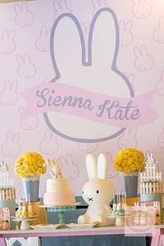 Oh, what a treat we have for you today! My seven year old self is giddy with joy because Party Deco sent in a pretty sweet old school party that I am very much sure you'll totally love! Miffy, the adorable bunny that warmed every little girl's heart back in the day, is here to celebrate…