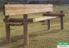banco de madeira rustica para jardim - Pesquisa Google