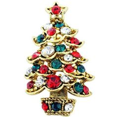 Multicolor Christmas Tree Swarovski Crystal Pin Brooch And Pendant (Chain Not Included) Fantasyard. Save 33 Off!. $19.99. Exquisitely detailed designer style. Other color available. Gift box available for an additional fee. Please check out through gift-wrap option