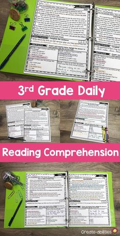 This Reading Comprehension Passages Bundle is great for 3rd grade or homeschool students. Pack includes 50 reading passages for your third graders. Use during literacy centers, stations, review, enrichment, early & fast finishers, gifted & talented {GATE}, homework, or in small groups. Passages cover skills and strategies such as visualizing, asking questions, main idea & details, text structures & more. {English Language Arts, Activities, Printables, Balanced Literacy} Reading Skills, Guided Reading, English Language, Language Arts, Text Structures, Fast Finishers, Balanced Literacy, Reading Comprehension Passages, 3rd Grade Classroom