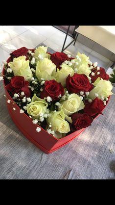 #roses #boxroses #red #love #flowers #cvece #cveceukutiji #ruzeukutiji #ljubav #... - #boxroses #cvece #cveceukutiji #flowers #ljubav #Love #red #roses #ruzeukutiji Box, Flowers, Desserts, Tailgate Desserts, Snare Drum, Deserts, Postres, Dessert, Royal Icing Flowers