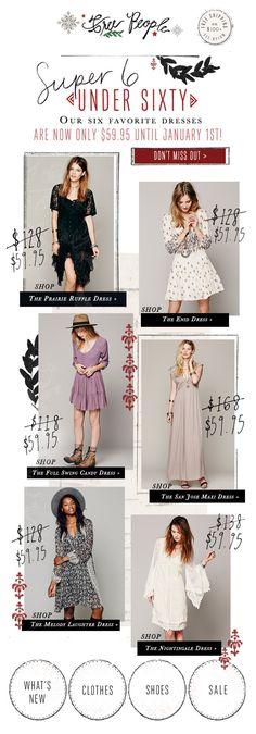Free People : Grid + Was Now + Category / Looks