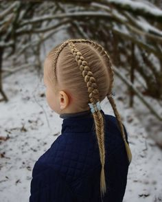 Simple and beautiful hairstyles for school every day - Kurz Haar Frisuren Hairstyles For School, Easy Hairstyles, Girl Hairstyles, Beautiful Hairstyles, Girl Haircuts, Butterfly Braid, Girls Braids, Hair Designs, New Hair