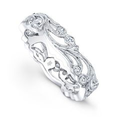 Beverley K Diamond Eternity Ring #708  Again, love the design.