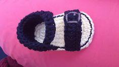 Free Crochet Pattern - Playin' Loopy With My Hooky: On boy sandals.*e*