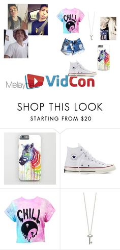 """""""W BruhItsZach @ vidcon."""" by melaynebruce ❤ liked on Polyvore featuring Clayton, Converse, Roberto Coin and Levi's"""